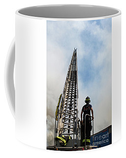 Firefighter W Arial Coffee Mug