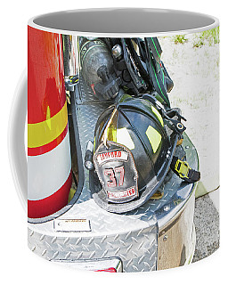 Firefighters Lid Coffee Mug