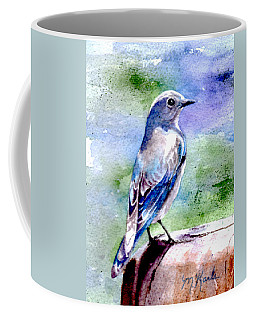 Firehole Bridge Bluebird - Female Coffee Mug