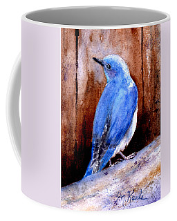 Firehole Bridge Bluebird - Male Coffee Mug