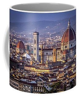 Firenze E Il Duomo Coffee Mug by Sonny Marcyan