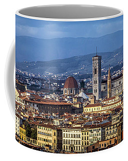 Coffee Mug featuring the photograph Firenze by Sonny Marcyan