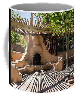 Fireplace With Sun And Shadows Coffee Mug