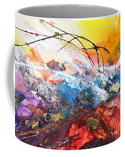 Firestorm Coffee Mug by Helen Harris