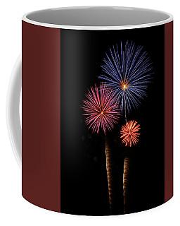 Firework Trees Coffee Mug