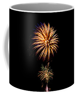 Coffee Mug featuring the photograph Fireworks 4 by Bill Barber