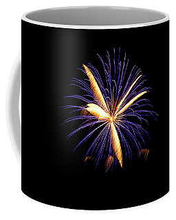 Coffee Mug featuring the photograph Fireworks 6 by Bill Barber