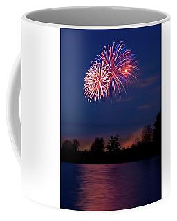 Fireworks Burst Coffee Mug
