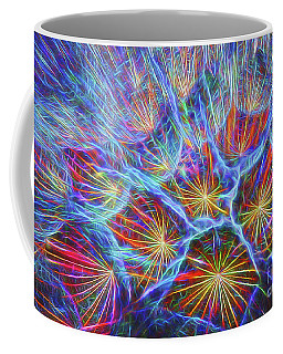 Fireworks In Nature Coffee Mug