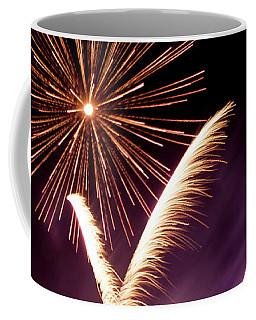 Fireworks In The Night Coffee Mug
