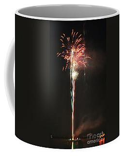Fireworks On The Lake Coffee Mug