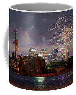 Fireworks Over Tampa 2017 Coffee Mug