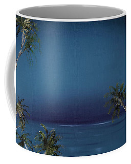 Fireworks Palms Coffee Mug