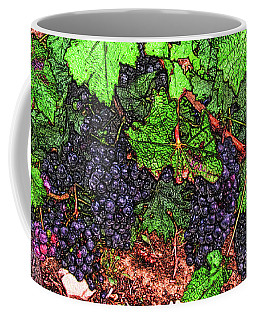 First Came The Grape Coffee Mug