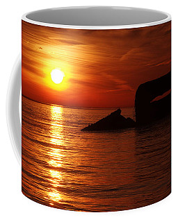 First Cape May Point Sunset Of 2017 Coffee Mug
