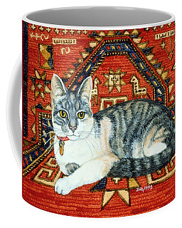 First Carpet Cat Patch Coffee Mug