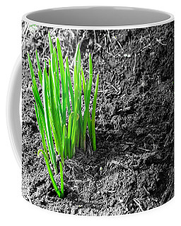 First Green Shoots Of Spring And Dirt Coffee Mug