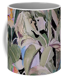 First Kiss Coffee Mug by Mindy Newman