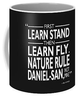 First Learn Stand Coffee Mug