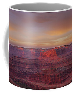 Coffee Mug featuring the photograph First Light At Horseshoe Bend by Marie Leslie