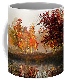 First Light At The Pine Barrens Coffee Mug