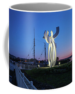 First Light At The Waterfront Coffee Mug