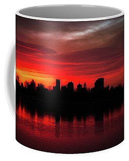 First Light In Denver Coffee Mug