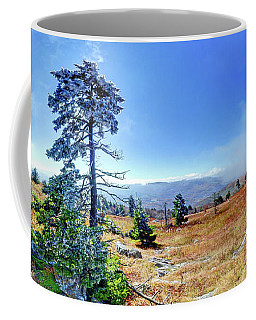 Coffee Mug featuring the photograph First Light Snow by George Randy Bass