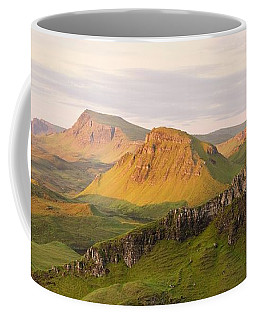 First Light Trotternish Panorama Coffee Mug
