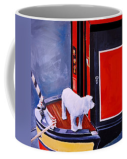 First Mate Coffee Mug by Jean Cormier