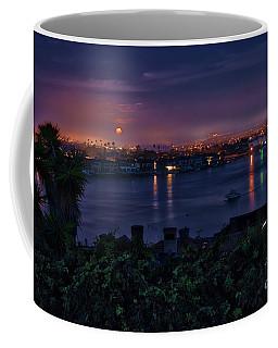 First Moonset Of 2018 Coffee Mug