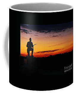 First Pennsylvania Cavalry Sunrise Gettysburg Coffee Mug