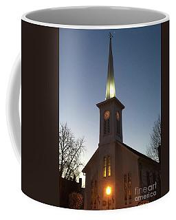 First Presbyterian Churc Babylon N.y After Sunset Coffee Mug
