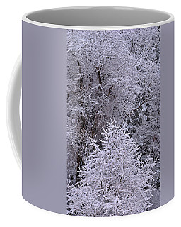 Coffee Mug featuring the photograph First Snow I by Ron Cline