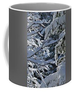 Coffee Mug featuring the photograph First Snow II by Ron Cline