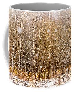 First Snow. Snow Flakes I Coffee Mug