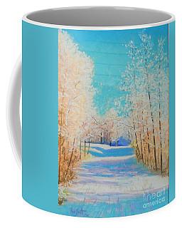 First Snowfall #2 Coffee Mug by Rae  Smith PAC