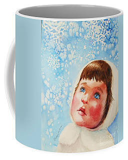 First Snowfall Coffee Mug by Marilyn Jacobson