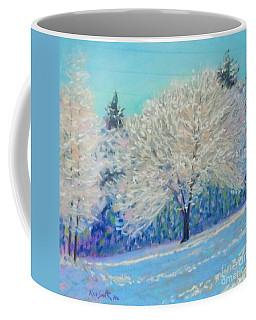 First Snowfall  Coffee Mug by Rae  Smith PAC