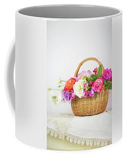First Spring Garden Roses Coffee Mug