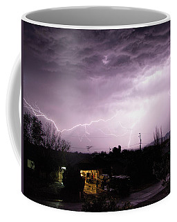 First Summer Storm Coffee Mug by Charles Ables