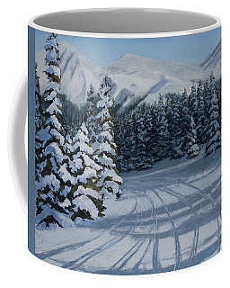 First Tracks Coffee Mug