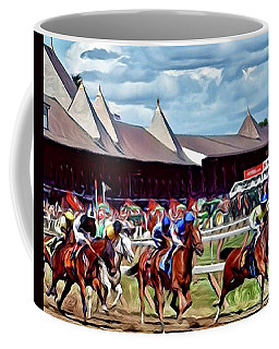First Turn Saratoga Coffee Mug