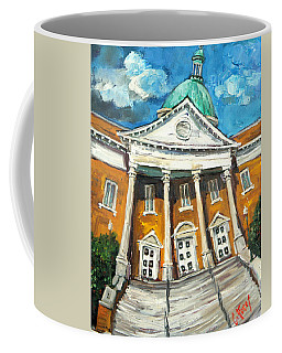 First United Methodist Church Athens Al Coffee Mug by Carole Foret