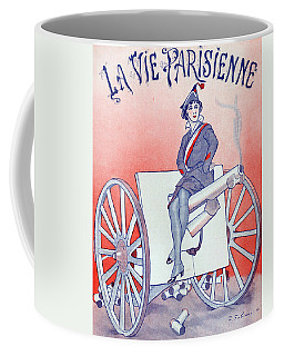 First World War Propaganda   Cover Of La Vie Parisienne Coffee Mug