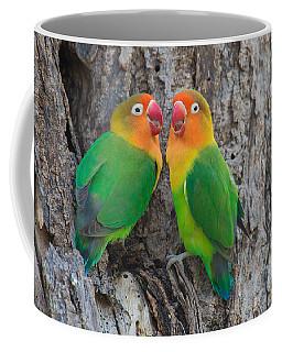 Fischers Lovebird Agapornis Fischeri Coffee Mug