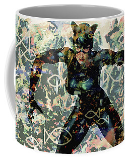 Fish And Kitty Coffee Mug
