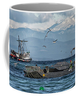 Coffee Mug featuring the photograph Fish Are Flying by Randy Hall