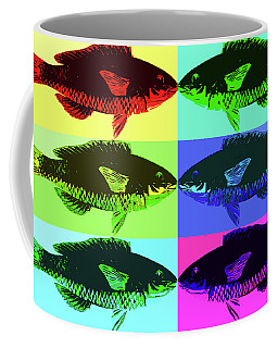 Fish Dinner Pop Art Coffee Mug