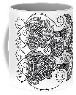 Fish Family Coffee Mug